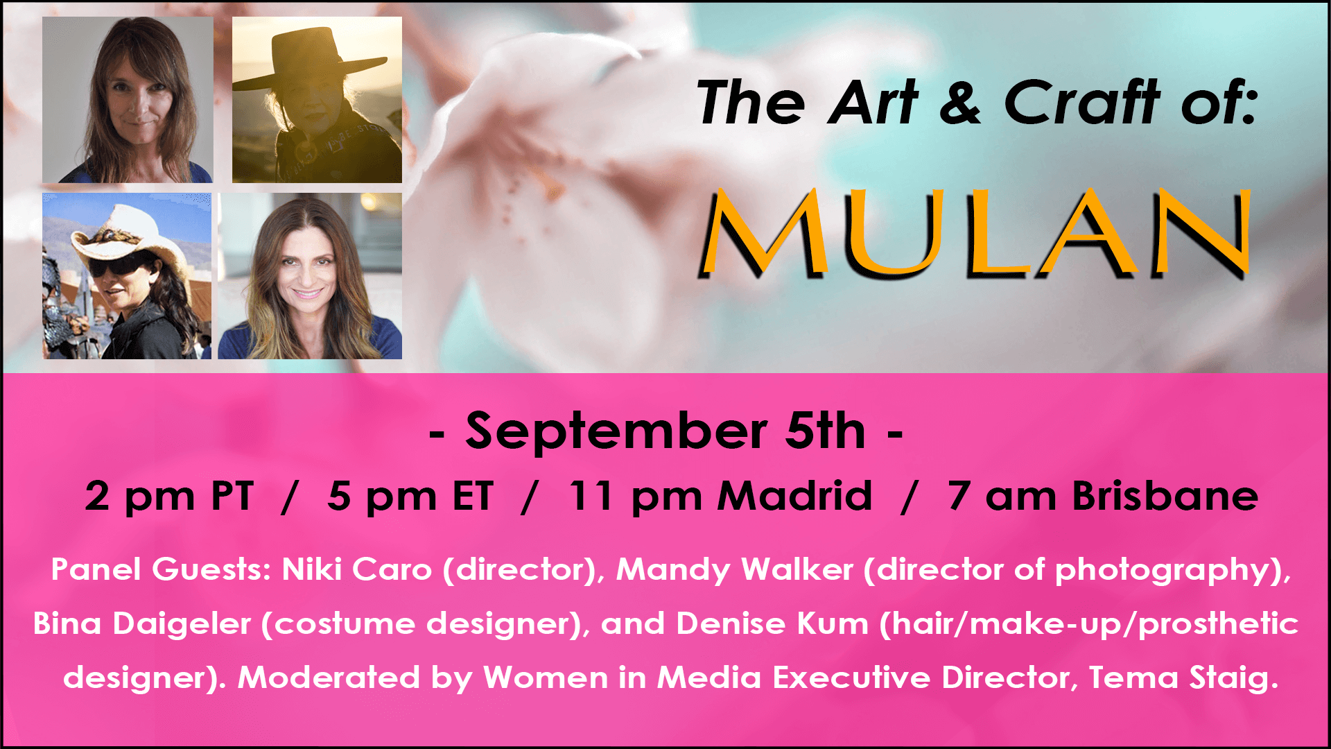 The Art And Craft Of Mulan Women In Media